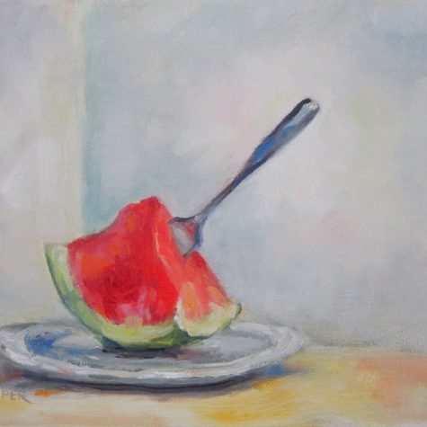 Watermelon (Oil) 8x10