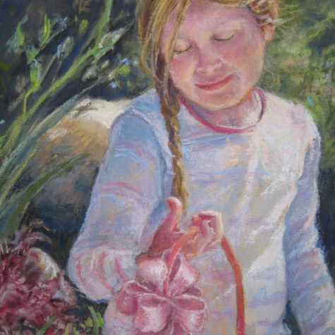 Easter Find Detail (Pastel)