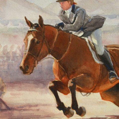 Hunter Class Detail (Watercolor)