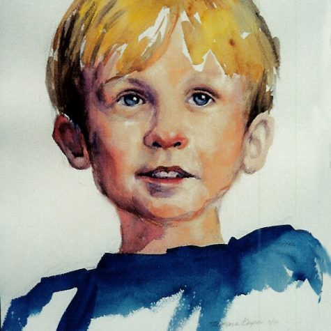 Just A Boy (Watercolor)