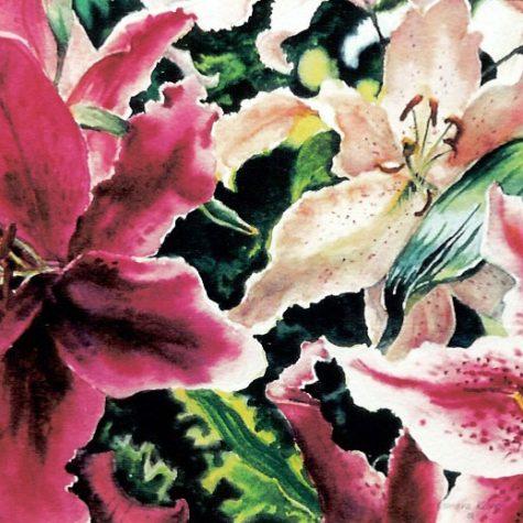 Lilies (Watercolor)
