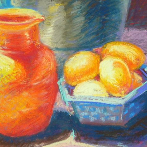 Still Life With Lemons (Pastel)