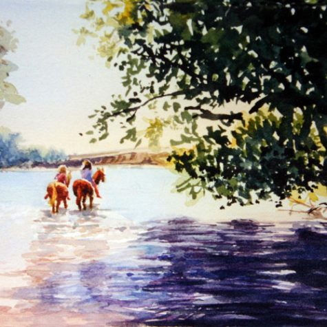 Summer At Woodward (Watercolor)