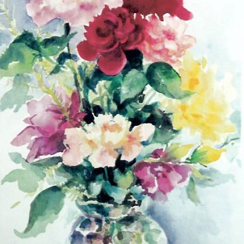 Summer Bouquet (Watercolor)