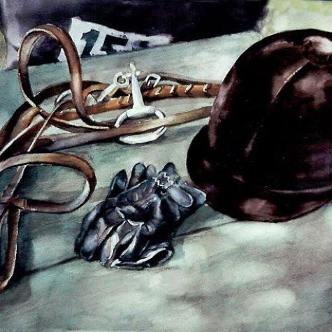 Taking A Break (Watercolor)