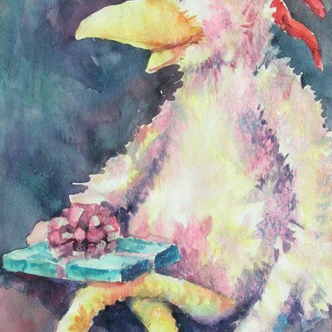 The Surprise (Watercolor)