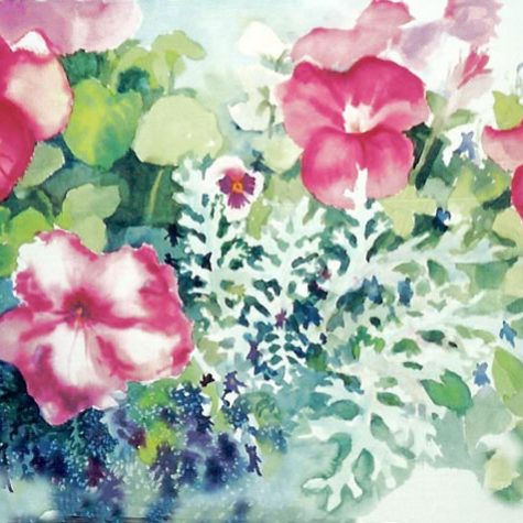 Fresh From The Garden (Watercolor)