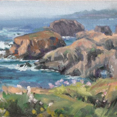 Mendocino Headlands (Oil)