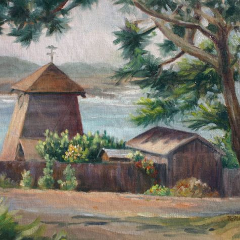 Mendocino Lookout (Oil)