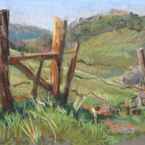 Foothill Fencepost (Pastel)