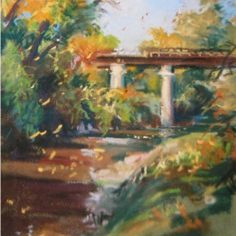 Jacob's Park Bridge (Pastel)