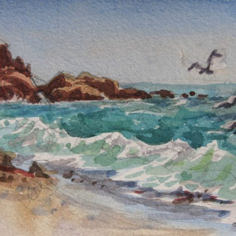 Laguna Beach (Watercolor)