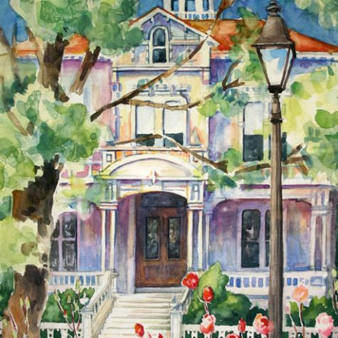 Mchenry Mansion (Watercolor)