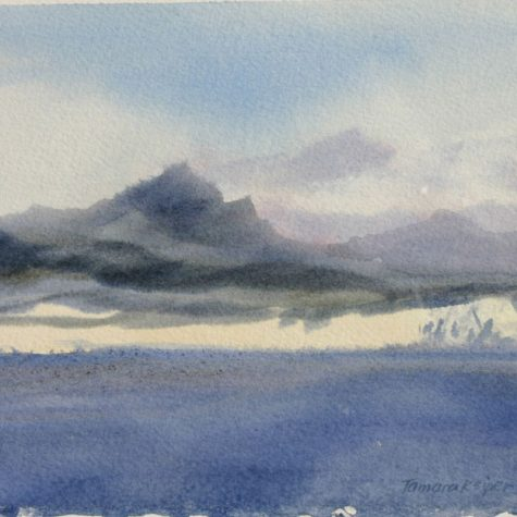 West Coast of Baja (Watercolor)