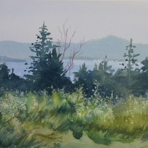 West View From Mcgills (Watercolor)