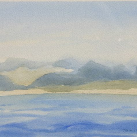 West Coast of Baja 2 (Watercolor)